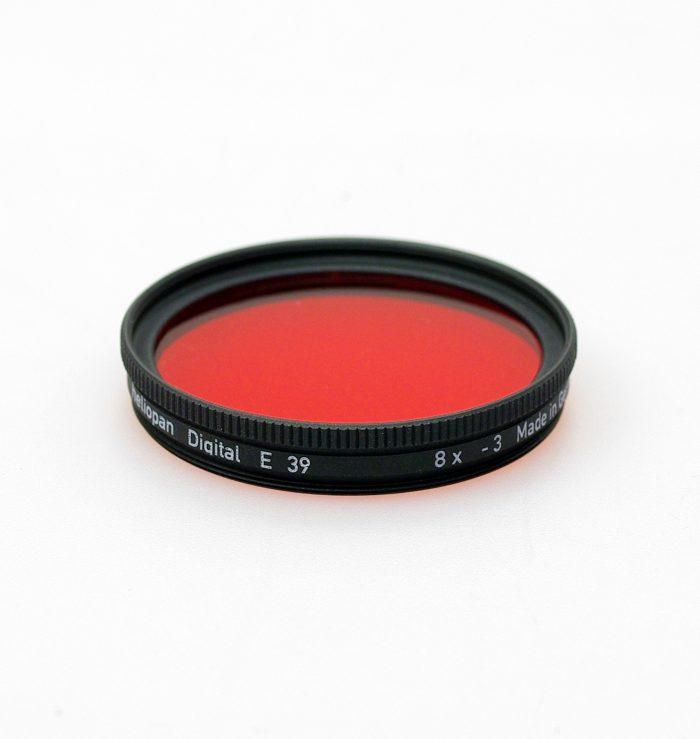 Heliopan red 25 (black & white) filter