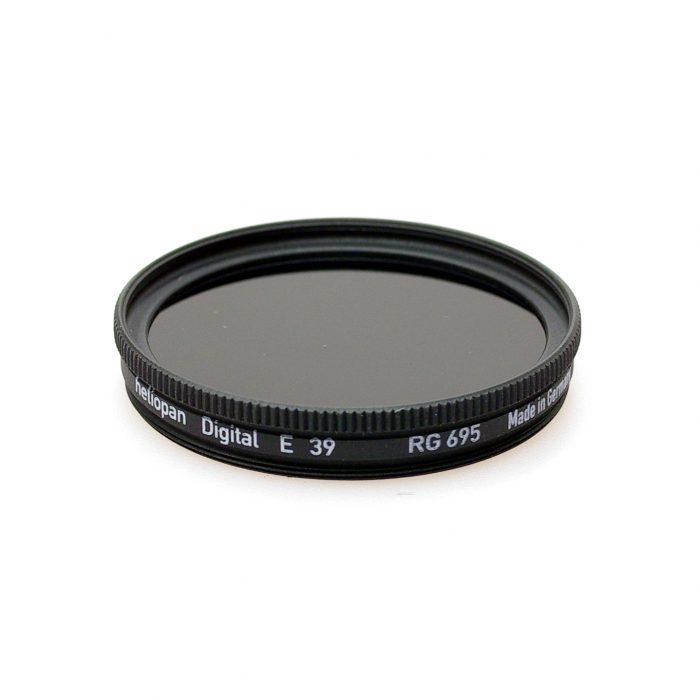 Heliopan rg695 (89b) infrared filter, 37-105mm