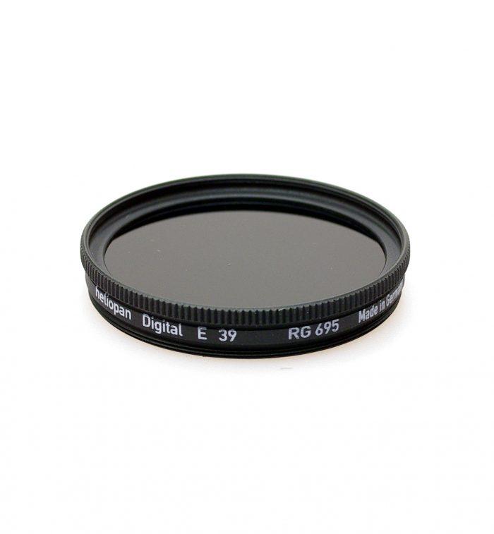 Heliopan rg695 (89b) infrared filter, 37-105mm