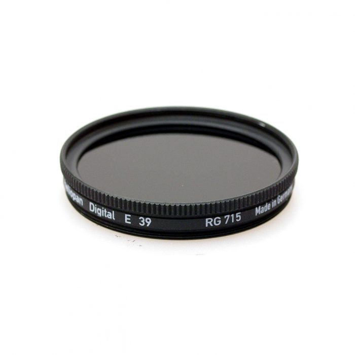 Heliopan rg715 (88a) infrared filter .