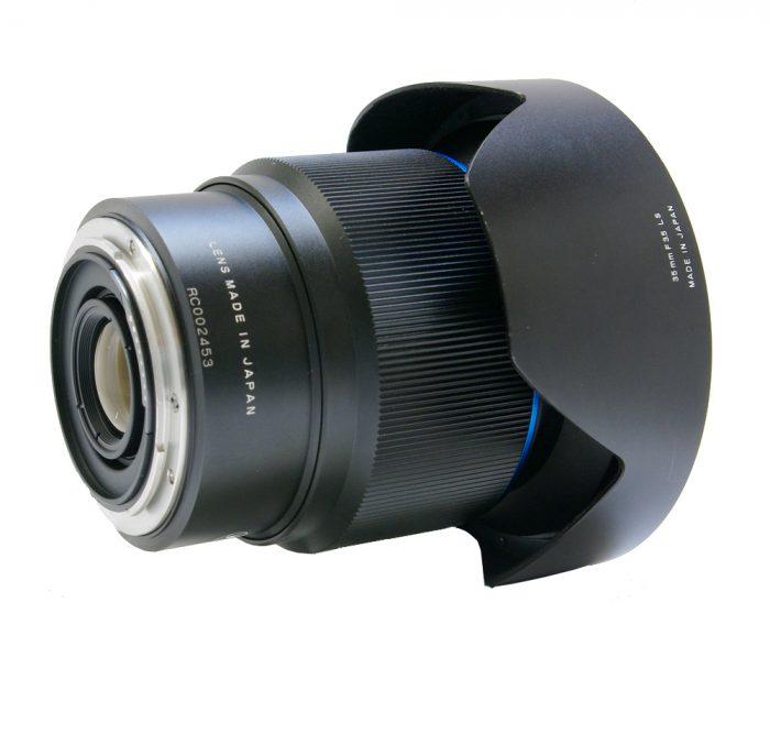 Used schneider kreuznach 35mm f3.5 ls blue ring