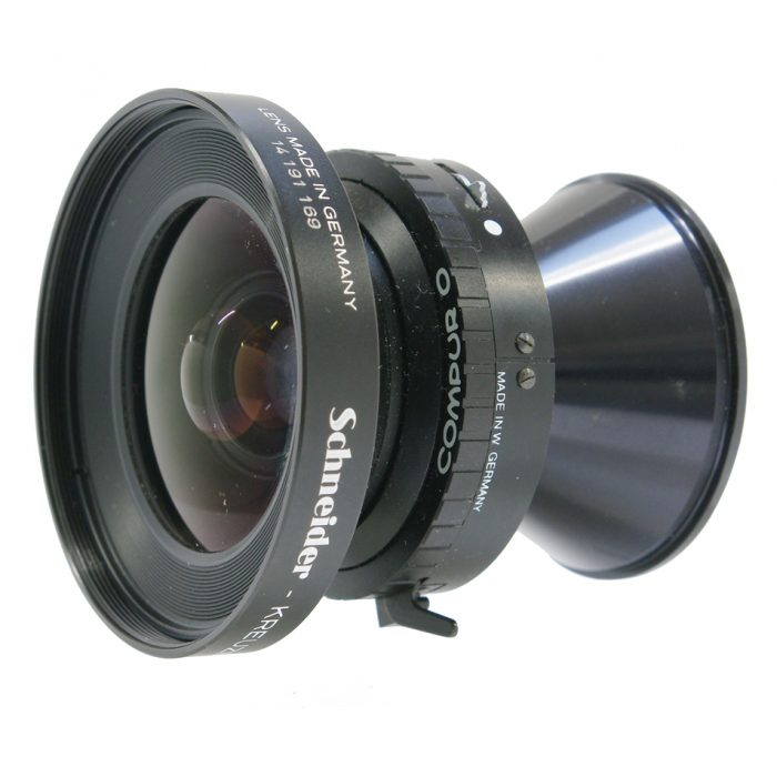 Used schneider super angulon 65mm f5.6 copal 0