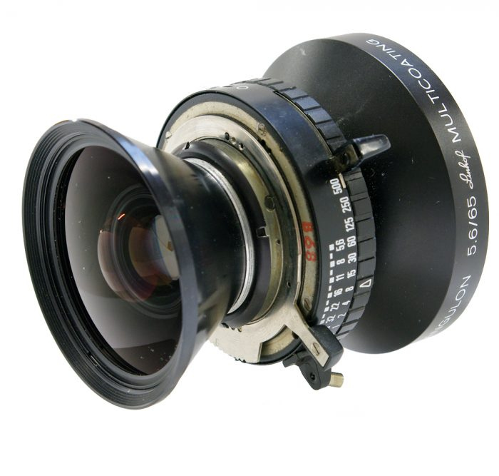 Used schneider super angulon 65mm f5.6 copal 0