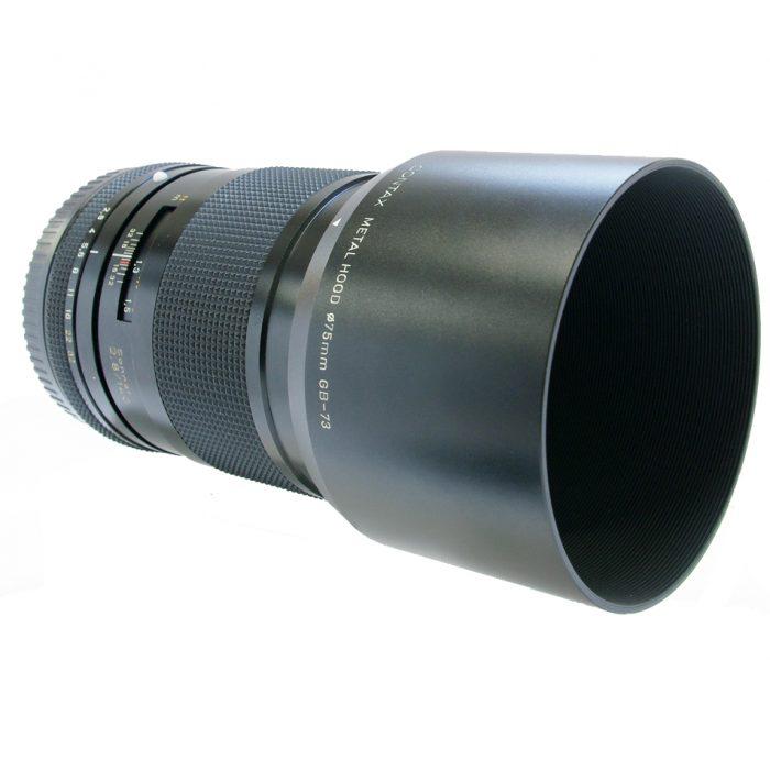 contax 645 zeiss sonnar 140mm f2.8 cw pouch + hood +box