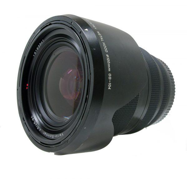contax 645 vario sonnar t* 45-90 f4.5 cw contax metal lens hood gb-104
