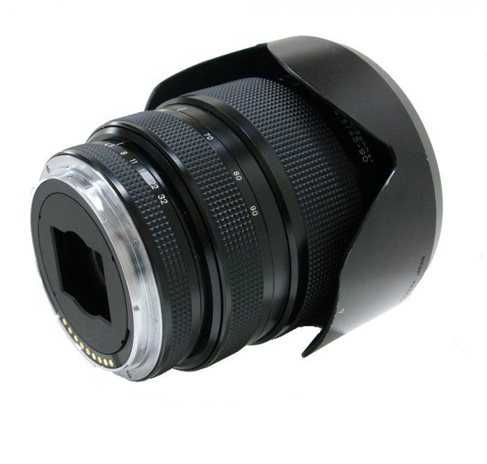 Used contax 645 vario sonnar t* 45-90 f4.5 cw contax metal lens hood gb-104