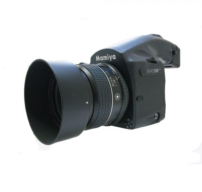 Used mamiya 645df+ body with schneider kreuznach 80mm f2.8 ls