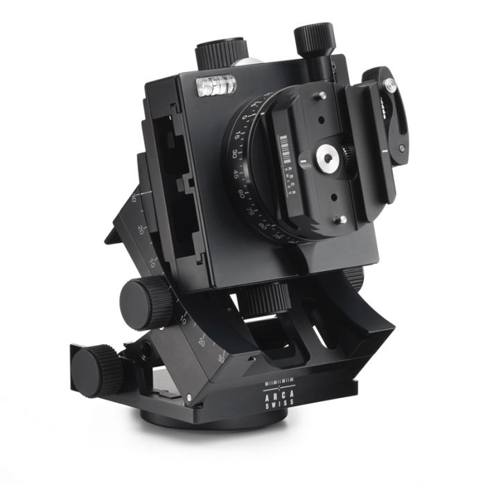 Arca swiss c1 cube gp tripod head geared panning with quickset fliplock device