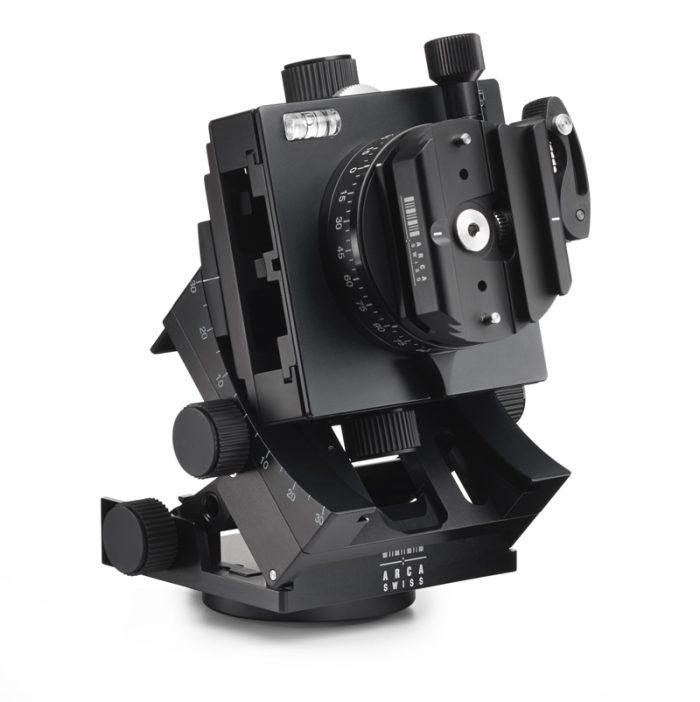Arca swiss c1 cube gp tripod head geared panning with quickset fliplock device