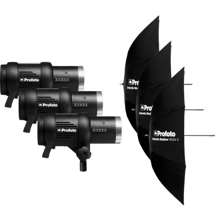 Profoto d1 – d1 studio kit 500/500/1000 air
