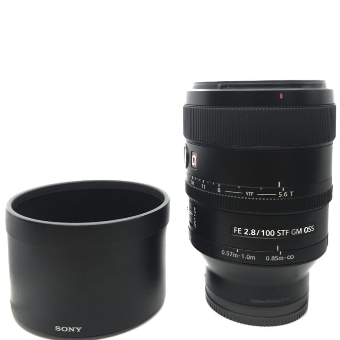 Pre-owned sony 100mm f2.8 fe stf gm oss (sony e-mount)