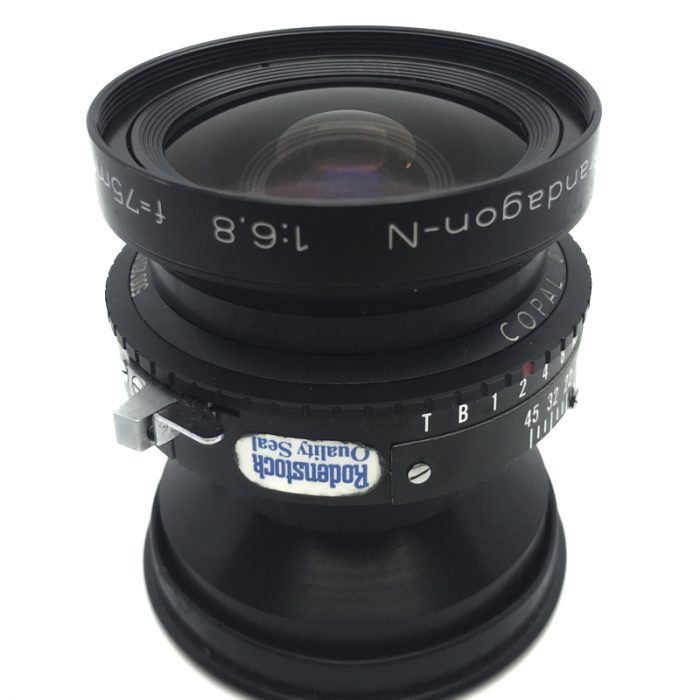 Pre-owned rodenstock grandagon-n 75mm f6.8