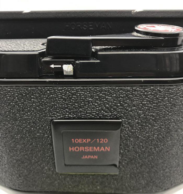 Pre-owned horseman roll film holder type 452 for 6×7