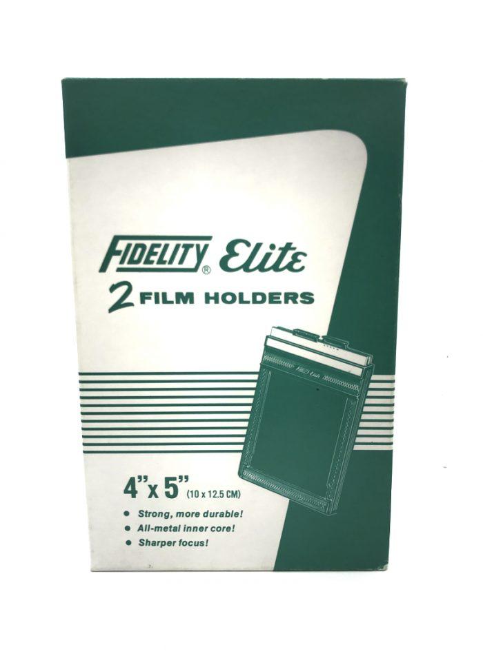 Pre-owned fidelity elite 5×4 film holder (box of two)