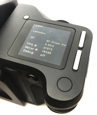 Pre-owned phase one xf body and prism