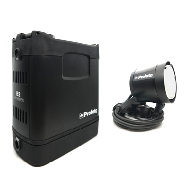 Pre-owned profoto b2 off camera flash kit