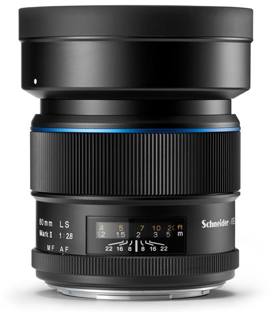 Schneider kreuznach 80mm ls f/2.8 mark ii lens