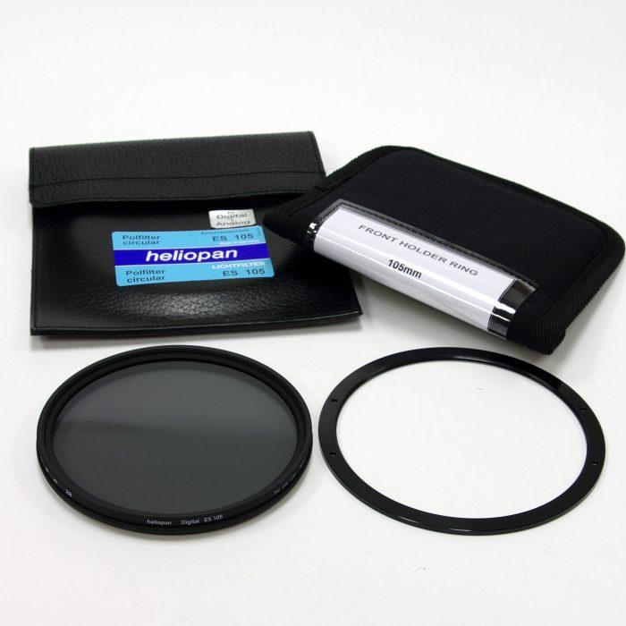 Heliopan 105mm cir polariser & lee 105mm front ring