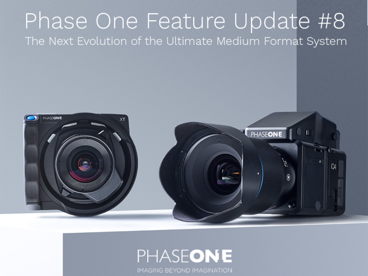 Phase One Feature Update 8 and New Product Releases