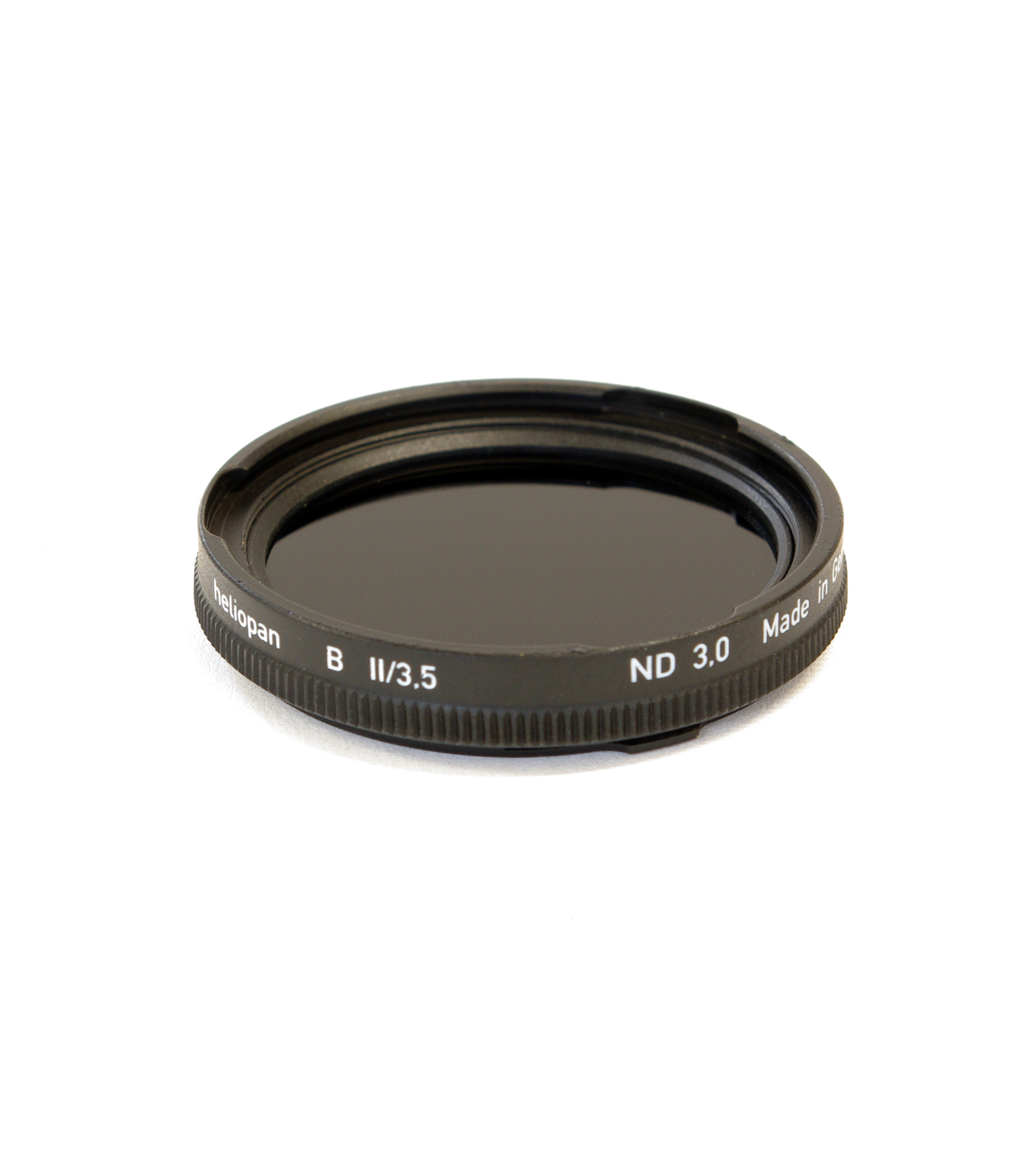 Heliopan neutral density filter. 1 to 10 stops. rollei bayii/bayiii