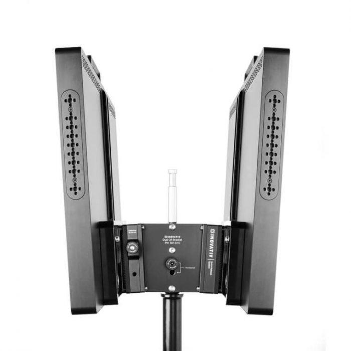 Inovativ quick release vesa monitor mount system – dual qr system
