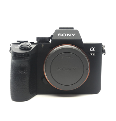 Pre-owned sony a7 iii camera body