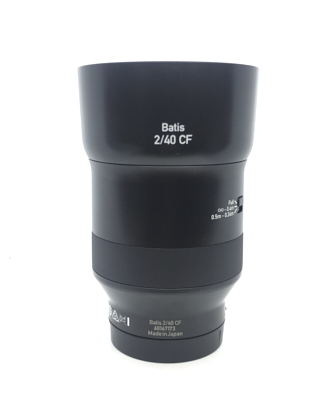 Pre-owned zeiss 40mm f2 cf (sony e-mount)