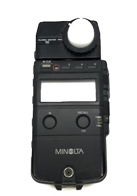 Pre-owned minolta flash iv meter