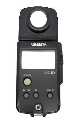 Pre-owned minolta color meter iii f