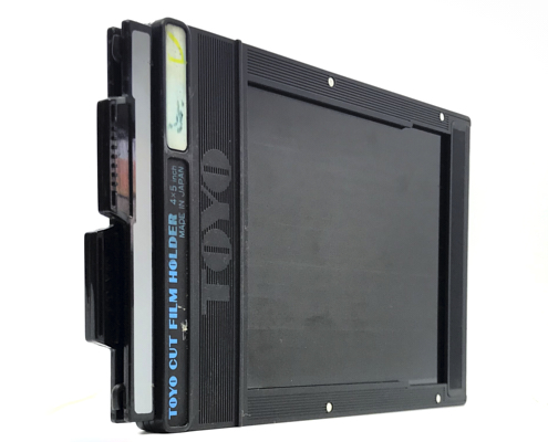 Pre-owned toyo 5×4 cut film holder