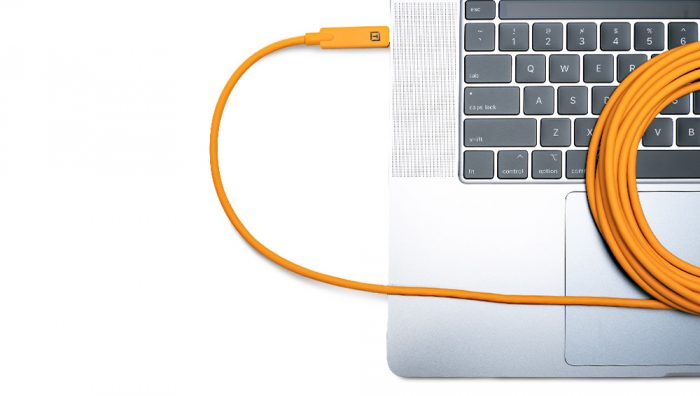 Tethertools tetherboost pro usb-c core controller extension cable