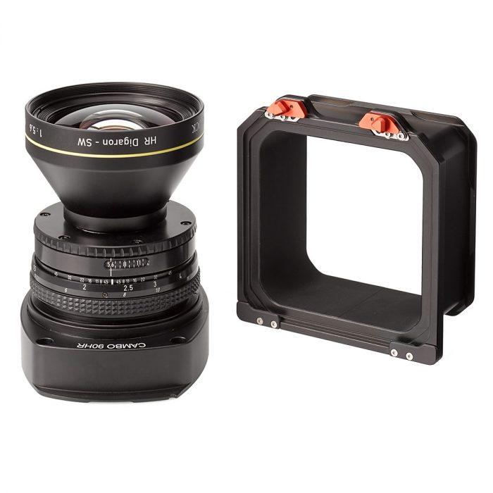 Cambo wrs 90mm hr digaron-sw lenspanel short barrel + spacer – standard panel – aperture only
