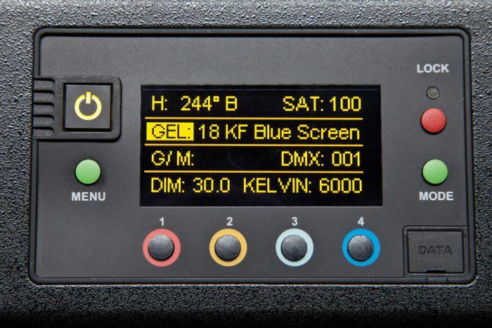 Kino flo celeb 450q dmx (yoke mount)