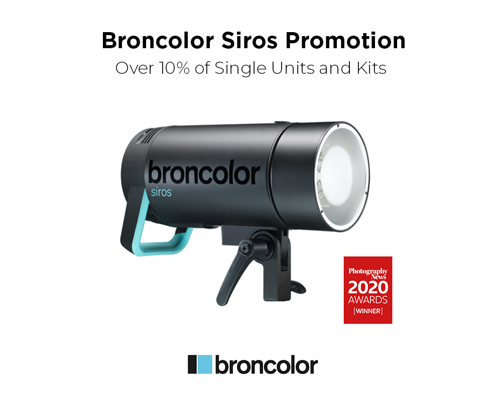 Broncolor siros promotion