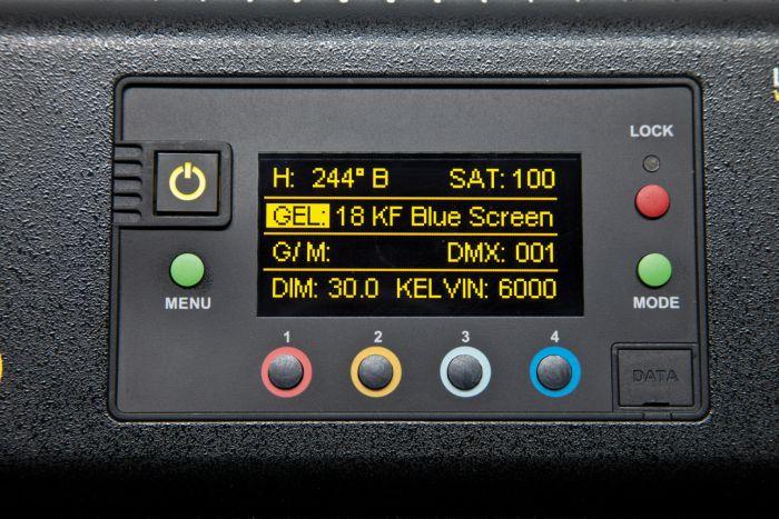 Kino flo freestyle led 31 dmx system