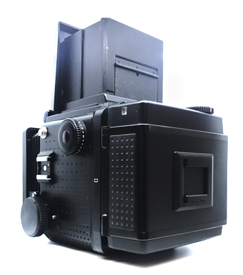 Pre-owned mamiya rz67 pro ii with waist level finder and 120 roll film back