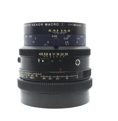 Pre-owned mamiya-sekor macro z 140mm f4.5