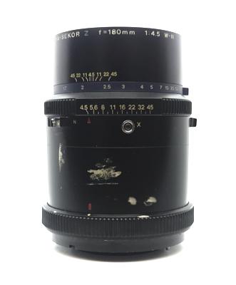 Pre-owned mamiya-sekor z 180mm f4.5 w-n