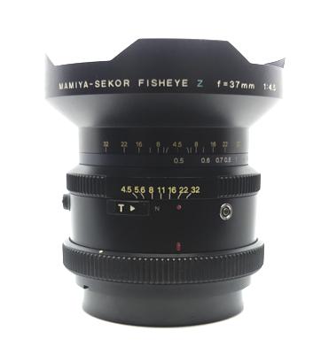 Pre-owned mamiya-sekor fisheye z 37mm f4.5