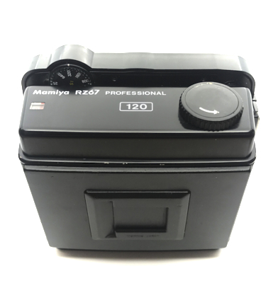 Pre-owned mamiya rz67 pro 120 roll film back