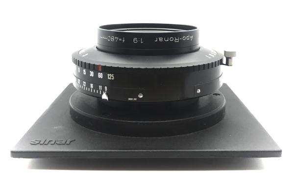 Pre-owned rodenstock apo-ronar mc 480mm f9