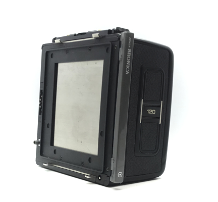 Pre-owned zenza bronica sq 6×6 roll film holder