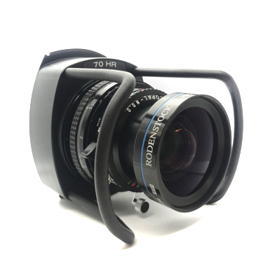 Pre-owned cambo wrs 70mm hr digaron-w lens