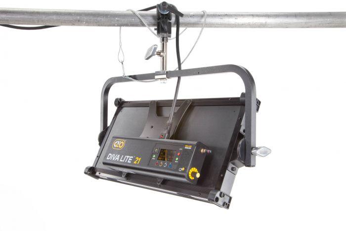 Kino flo diva-lite 21 led dmx (yoke-mount)