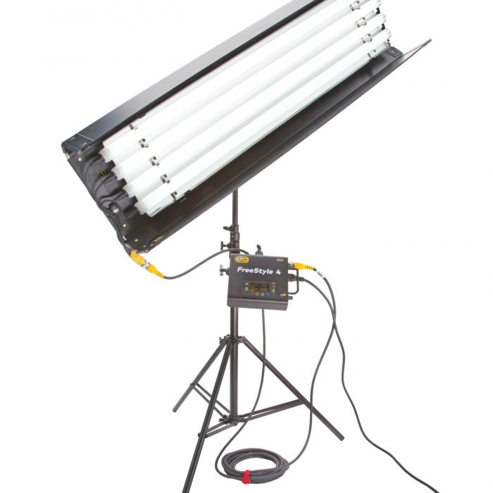 Kino flo freestyle t44 led dmx system (includes 4 x fs-48)