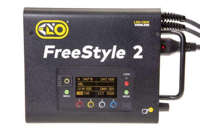 Kino flo freestyle t41 led dmx system