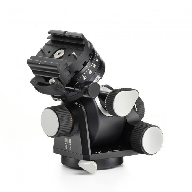Arca-swiss d4 gp (geared pan) tripod head with fliplock® quick set device