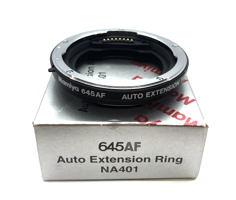 Pre-owned mamiya 645af auto extension tube na401