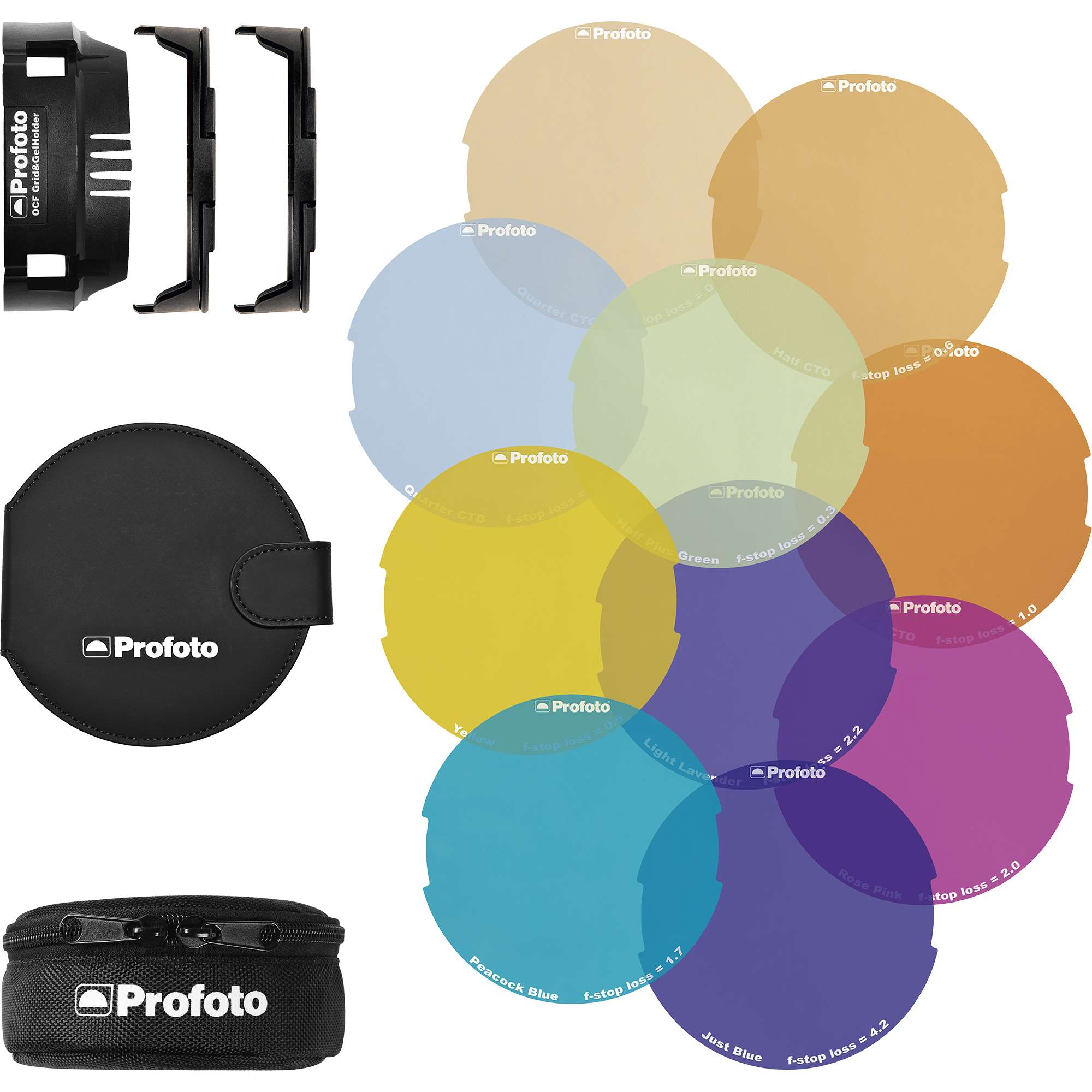 Profoto ocf colour gel starter kit (101037)