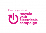 Logo of recycle your electricals campaign